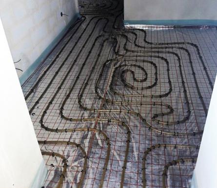 Теплі підлоги у вашій оселі